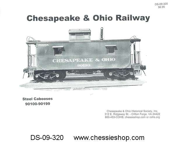 Booklet, Steel Caboose Photos, 90100-90199