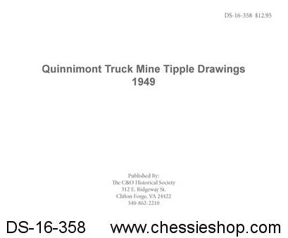Quinnimont Truck Mine Tipple Drawings 1949