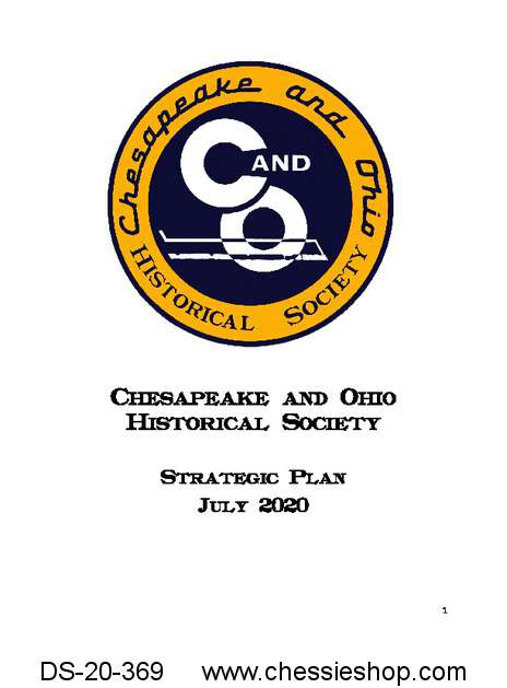 Chesapeake & Ohio Historical Society Strategic Plan 2020-2021