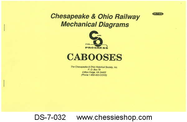 C&O Caboose Diagram Book