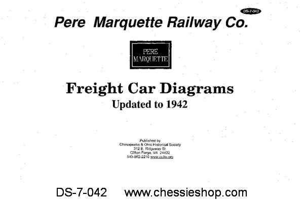 PM Freight Car Diagrams Updated to 1942