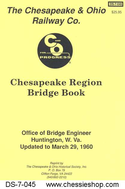 Bridge Book - Chesapeake Region (Mar. 1960)