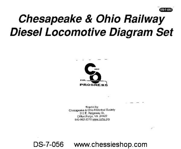 C&O Diesel Diagram Set