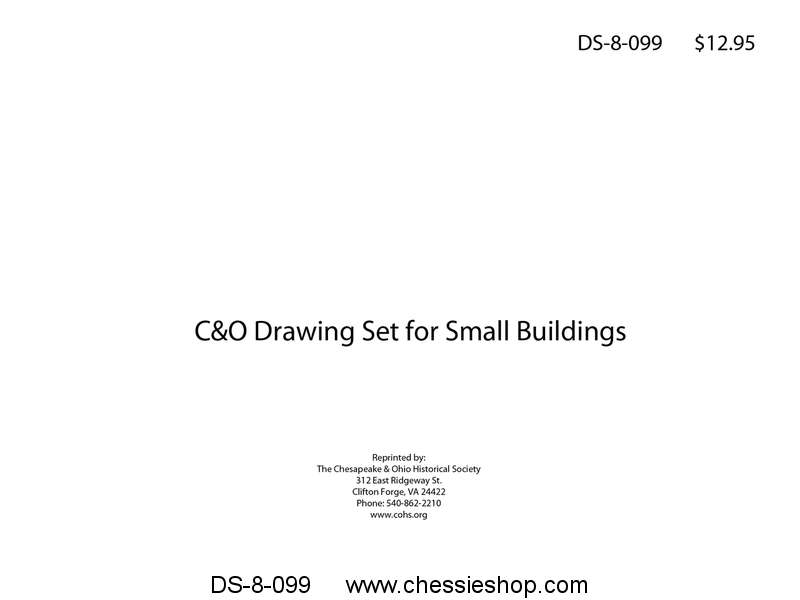 C&O Drawing Set for Small Buildings...