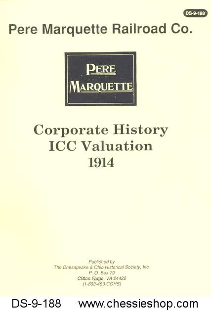 PM Corporate History ICC Valuation (1914)