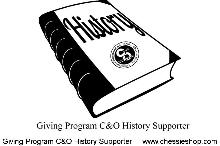 C&OHS's C&O History Supporter - Giving Program