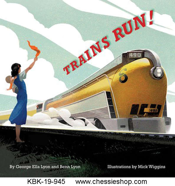 Book, Trains Run