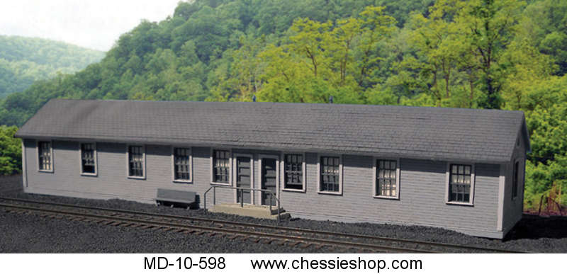 Crew Quarters, Thurmond, C&O, HO Scale