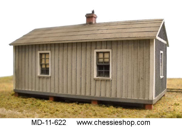 Standard Section Laborer Bunk House HO Scale