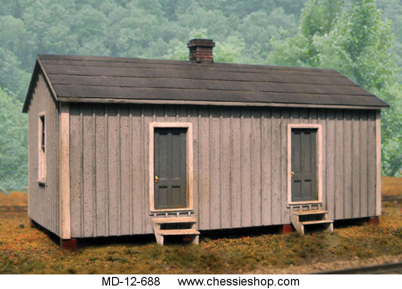 Section House, C&O Standard, HO Scale