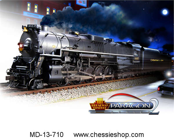 Locomotive, C&O T-1 2-10-4, Paragon 2 Sound/DC/DCC, HO Scale