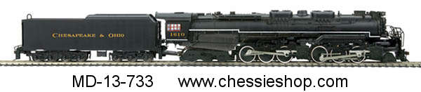Locomotive, 2-6-6-6 Allegheny Steam Engine With Proto-Sound 3.0