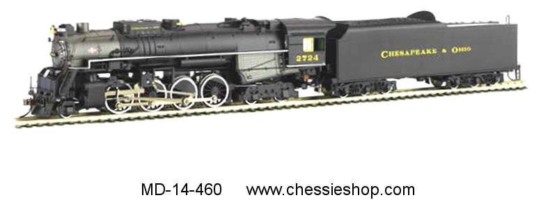 Locomotive, C&O Kanawha, N Scale