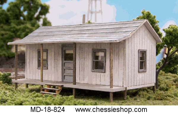 Company House Kit, N-Scale by Blairline