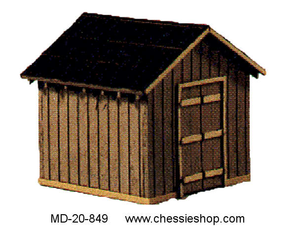 Coal Storage House Kit, HO, Scale