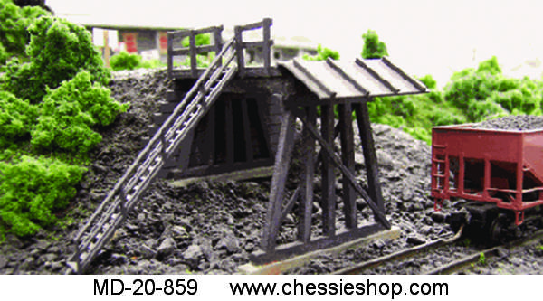 Truck Mine Tipple Kit, HO Scale