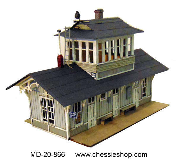 QN Cabin, HO Scale Kit