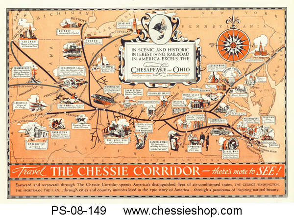 Print, The Chessie Corridor