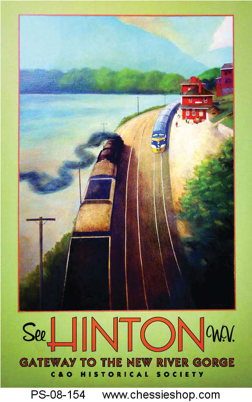 Poster, Hinton Commemorative Travel Limited Edition