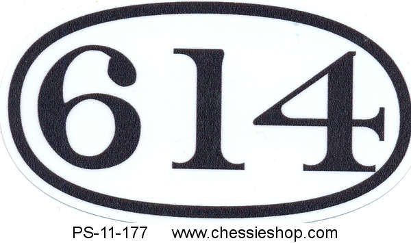 614, Decal