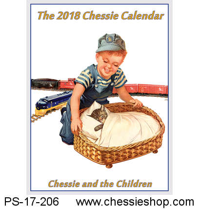 Calendar, Chessie: Chessie and the Children, 2018