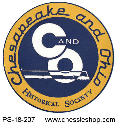 Decal, Chesapeake & Ohio Historical Society