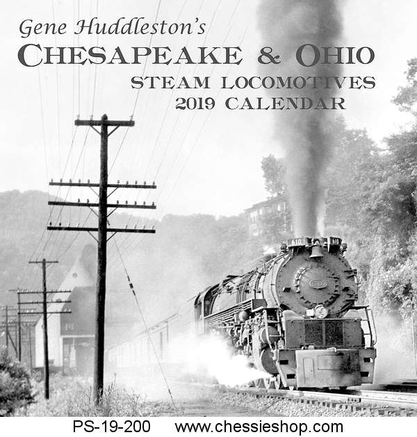 Calendar, 2019, Steam Photos by Gene Huddleston