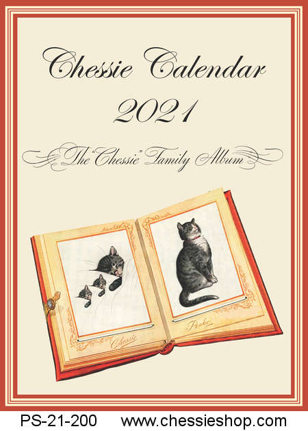 Calendar, 2021, The Chessie Family Album