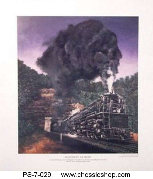 Print: Allegheny at Speed