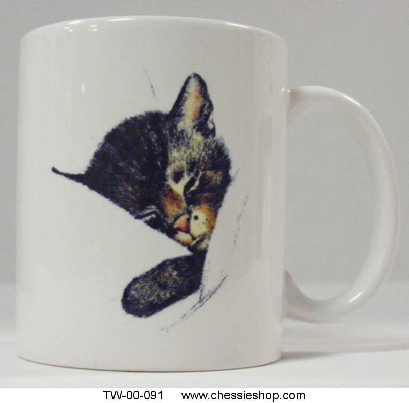 Mug, Chessie White