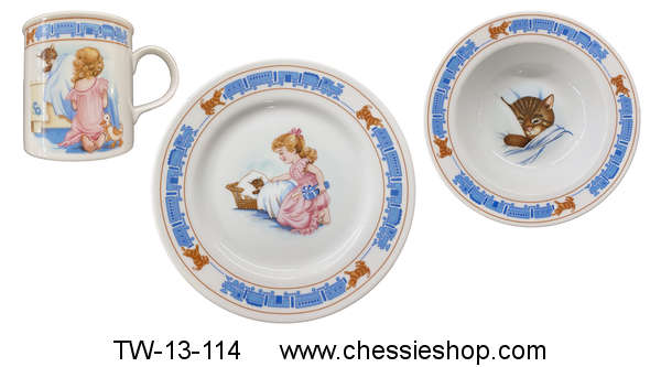 Breakfast Set, Chessie's Gift