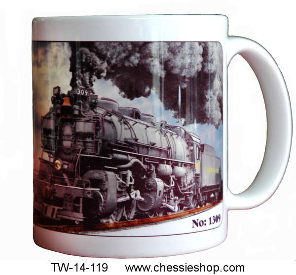 Mug, 2-6-6-2 Articulated Steam Locomotive, H-6 #1309